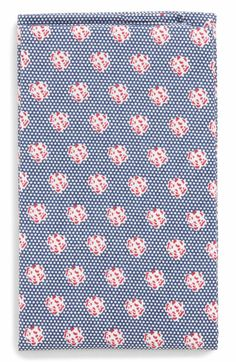 Blue Talon Floral...Nordstrom Men's Shop The Perfect Pocket Square