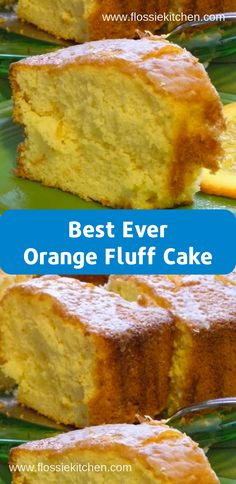 This Orange Fluff Cake was amazing! This was the closest recipe to the one I had lost from my mother …<br> This Orange Fluff Cake was amazing! This was the closest recipe to the o Köstliche Desserts, Delicious Desserts, Dessert Recipes, Yummy Food, Desserts Fluff, Fluff Cake Recipe, Orange Fluff, Seafood Recipes, Cooking Recipes