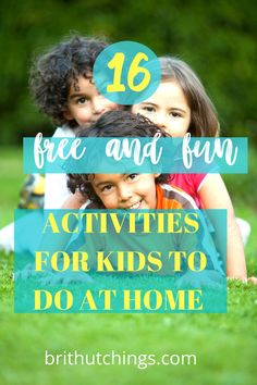 33 Fun Activities For Kids Dig for Diamonds Go for a bike ride Color Do Yoga Do a good deed Do a puzzle Read a book Tell funny jokes Indoor Activities For Toddlers, Fun Activities To Do, Toddler Potty Training, Tired Mom, Movement Activities, Diy Projects For Kids, Work From Home Moms, Survival Guide, How To Do Yoga