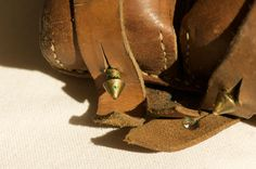 Vintage Leather Belt Pouch