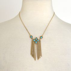 Kendra Scott Fringe Necklace