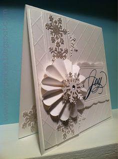 """Joy"" Christmas Card ~ beautiful!"