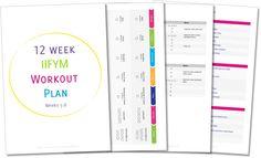 12 week iifym/reverse diet gym workout plan free diet plans to lose weight for women 12 weeks 12 Week Workout Plan, Weekly Workout Plans, Fast Weight Loss, Weight Loss Program, Diet Plans To Lose Weight, How To Lose Weight Fast, Wöchentliches Training, Weight Training, Reverse Dieting