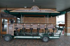 TC Pub Pedaler - pedal your way from bar to brewery this summer in Traverse City!