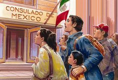 IMMIGRATION: Racism and prejudice against Mexican immigrants to America was common during the early 1900's. Mexican immigrants faced several forms of discrimination, such as forced repatriation. Restaurants refused to serve Mexican immigrants. Public swimming pools, rest rooms, drinking fountains and theaters were often segregated. Mexican-immigrant school children were often forbidden to speak Spanish in schools. Many held on and benefited because of the war economy. But, not all.