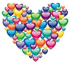 Hearts Heart Art by Lisa Frank I Love Heart, Happy Heart, Birthday Wishes, Happy Birthday, Heart Images, Heart Pics, Heart Wallpaper, How To Show Love, Heart Art