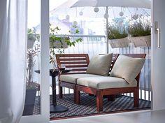 Balkon dekorasyon fikirleri 19