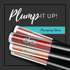 Time to get those lips a plumpin' 💋 Transform dry winter smoochers with our ultra-hydrating plumping gloss 💦   #doactiveproducts #doactivemakeup #plumpitup #plumpinggloss #thefreshfaceofdo
