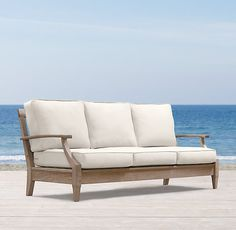 Techniques For Alexandra Sofa That Only The Pros Know About 27 - homesdecoring Teak Garden Furniture, Furniture Vanity, Outdoor Furniture, Indoor Outdoor Rugs, Outdoor Sofa, Outdoor Decor, Modern Shop, Home Hardware, Teak Wood