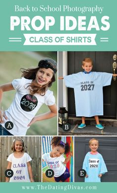 Back to School Photo Shoot Ideas- I need to make B happen! SOOOO many fun ideas in this post. Pinning now for later.