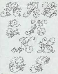 Image result for Alfabeto Rouyer 254