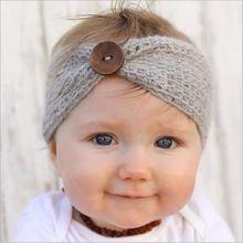 Baby girl vendas de punto de lana de invierno para niños recién nacidos abrigo principal de pelo turbante headwrap headwear de la venda infantil del pelo accesorios(China (Mainland))                                                                                                                                                                                 Más