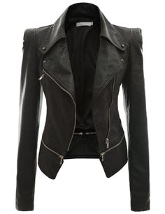 Fashionable Leather Jackets for Women | New Daily Fashion