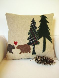Christmas pillow #Decorative