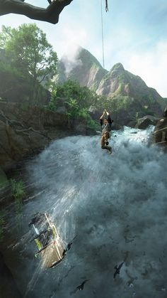 Another day at the office #Uncharted #PS4 #Uncharted4 #TheLastOfUs #NathanDrake #PS4share #playstation #gaming #games
