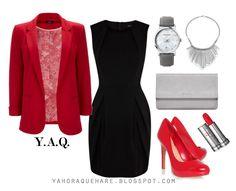 Y. A. Q. - Blog de moda, inspiración y tendencias: [Y ahora qué me pongo en] Un matrimonio + un vestido negro