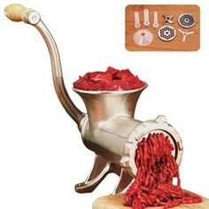 Deluxe Meat Grinder contemporary-specialty-cookware