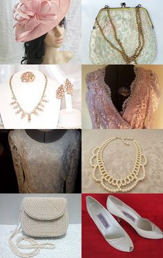 Mother of the Bride for Vintage Passion Team  by Vicki Ruggiero on Etsy--Pinned with TreasuryPin.com