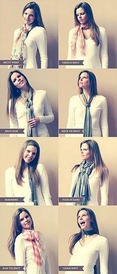 tying a scarf 101