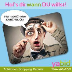 Garantiert kein Kleingedrucktes! Alle #Auktionen, #Deals und #Rabatte auf einen Blick mit der Yabid Suchfunktion.  Hol's dir wann DU willst! www.yabid.net