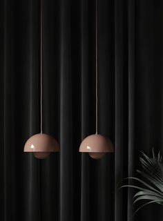 Verner Panton Flowerpot lights for &Tradition