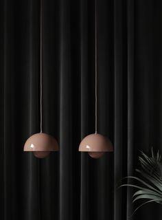 Verner Panton Flowerpot lights for &Tradition