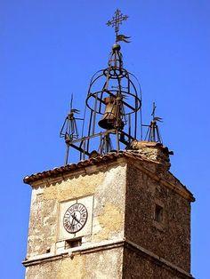 Clocher de Lacoste ~ Lacoste,Vaucluse, Provence, France.