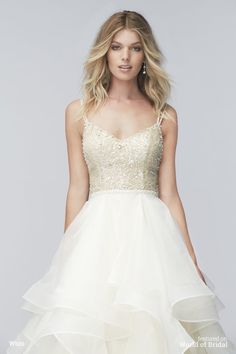 Wtoo Spring 2016 Wedding Dress