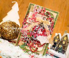 Enjoy your life: December '15 Color Challenge Lindy's Stamp Gang