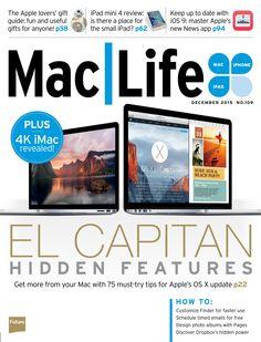 Mac Life. #ElCapitan, hidden features.