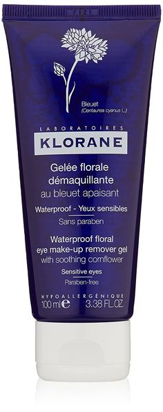 Klorane Floral Gel Eye Make-Up Remover with Soothing Cornflower - Waterproof , 3.38 fl. oz. * This is an Amazon Affiliate link. You can get additional details at the image link.