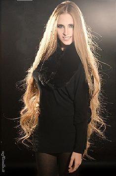 Addicted To Long Hair Really Short Hair, Super Long Hair, Big Hair, Rapunzel Hair, Bun Hairstyles For Long Hair, Silky Hair, Beautiful Long Hair, Queen, Ginger Hair