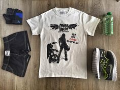 Sport life outfit with Miss Biker  limited edition tee