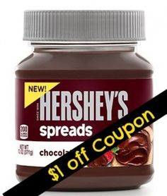 We have some new Hershey Coupons for Hershey's Spread, REESE'S Baking Pieces and HERSHEY'S BLISS Chocolates. Grab some Hershey's Spread for just $2.38!
