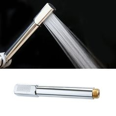 Pressurized Water Saving Shower Head ABS With Chrome Plated Bathroom Hand Shower Water Booster Showerhead P #Affiliate
