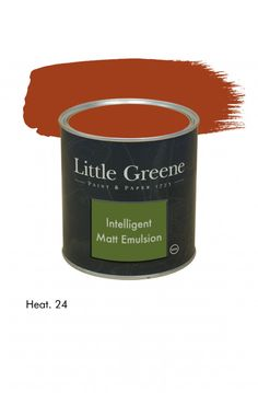 Peinture, Peinture intérieure Heat n°24. Peinture Intelligent Matt Emulsion Little Greene : Peinture, Peinture intérieure
