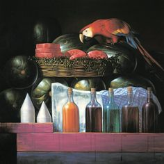 Pintor Mexicano, Pintura al Oleo, Cosas sobre Mexico. Rasapados, ave