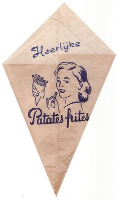 www.trondbargie.nl - - - - - - - -  Puntzak voor frietjes.