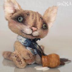 """мишаники от аники: Little kitten Willie - OOAK 4.9 """""""