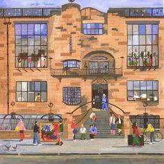 Term Time, Glasgow School of Art by Jennifer Thomson.