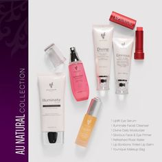 AU Natural collection by Younique! The best collection EVER. All the skin care products you will ever need!! Available March 1st 2016