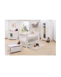 Tutti Bambini 7 Piece Marie Nursery Furniture Suite - White Finish