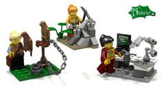 Halfway to the 10,000 votes needed-- if you want Lego to produce these minifigures of women in interesting and varied careers (falconer, paleontologist, and engineer pictured here) instead of just the bakeries and pet-stores they currently have in their Lego Friends line, click through and vote for these designs.