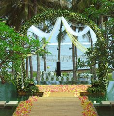 The Sahita, an ocean front villa in Canggu Seseh that can accommodate up to 300 wedding guests
