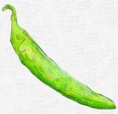 ANAHEIM Hot Pepper Seeds - 10 seeds - Chilli Pepper Seeds #hotpepperseeds #hotpeppers #seeds #hotpepper #peppers