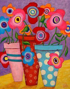 Floral Happiness - John Blake