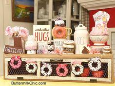 Donut Decorations, Valentine Decorations, Garden Decorations, Bunting Garland, Buntings, Garlands, Cupcake Kitchen Decor, Pastel Room Decor, Home Grown Vegetables