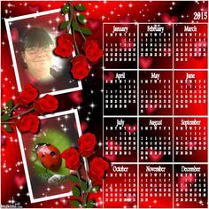 2015 rose calendar -**Queenie**