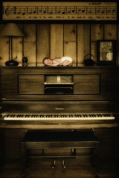 We don't have a vertical piano but this is precious