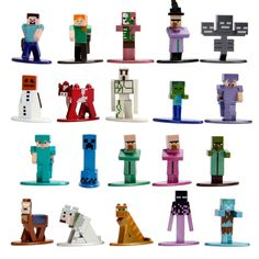 Jada Toys Nano Metalfigs Minecraft Die-Cast Figures : Target oliver and lorelei